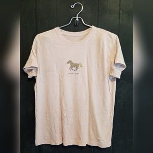 """Life is Good """"Hot to Trot"""" tshirt"""